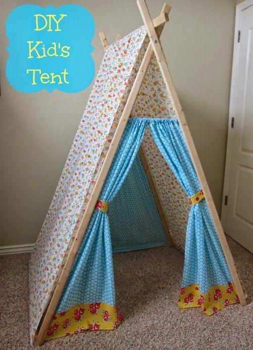 Salty Cinderella DIY Kidu0027s Play Tent (reading nook cozy corner hideout & Salty Cinderella: DIY Kidu0027s Play Tent (reading nook cozy corner ...