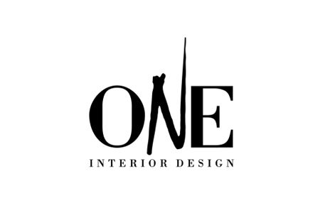 home design on one interior design logo design roxy b design - Interior Design Logo Ideas