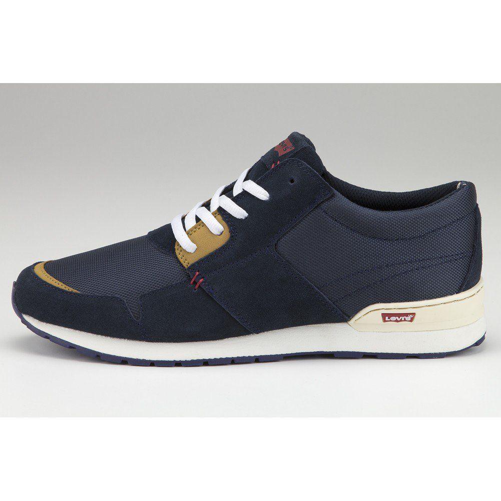 Levi's NY Runner Shoes - Navy Blue
