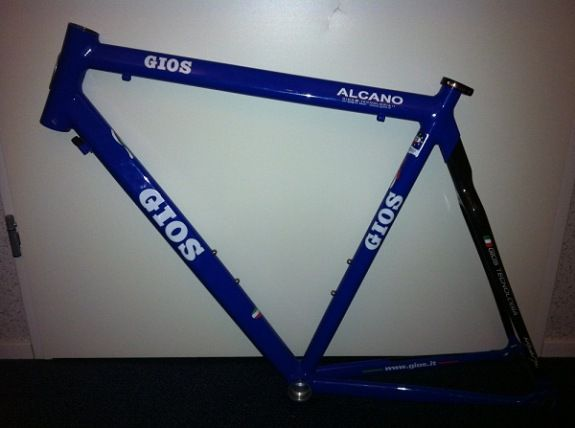GIOS Alcano frame set. Click image for more pictures, price and specs.