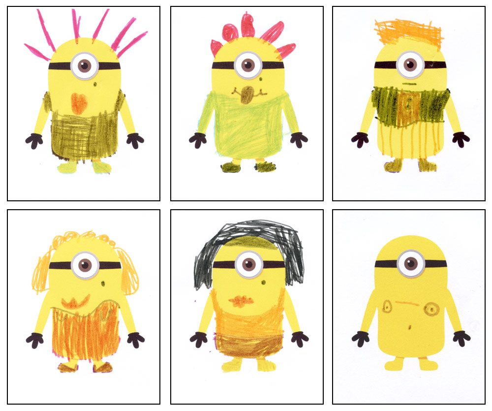 Drawing Competition - Despicable Me 2 | Pinterest | Craft