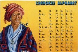 Famous Cherokee Indians: Sequoyah - A Literary genius | Cherokee ...
