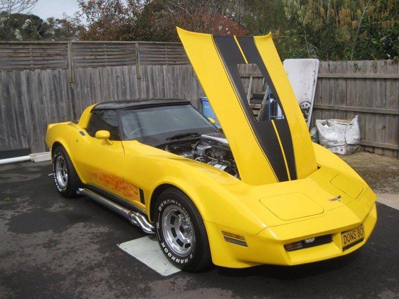 1980 CHEVROLET CORVETTE C3 for sale   Trade Unique Cars Australia ...