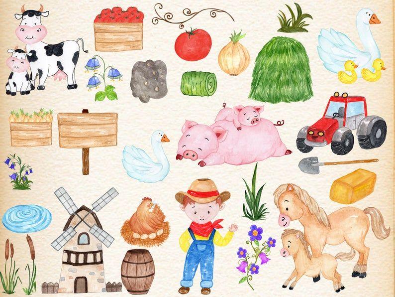 Cute Horse Head Clip Art Free Clipart Images 2 - Farm Animals Horse Clipart  - Free Transparent PNG Clipart Images Download