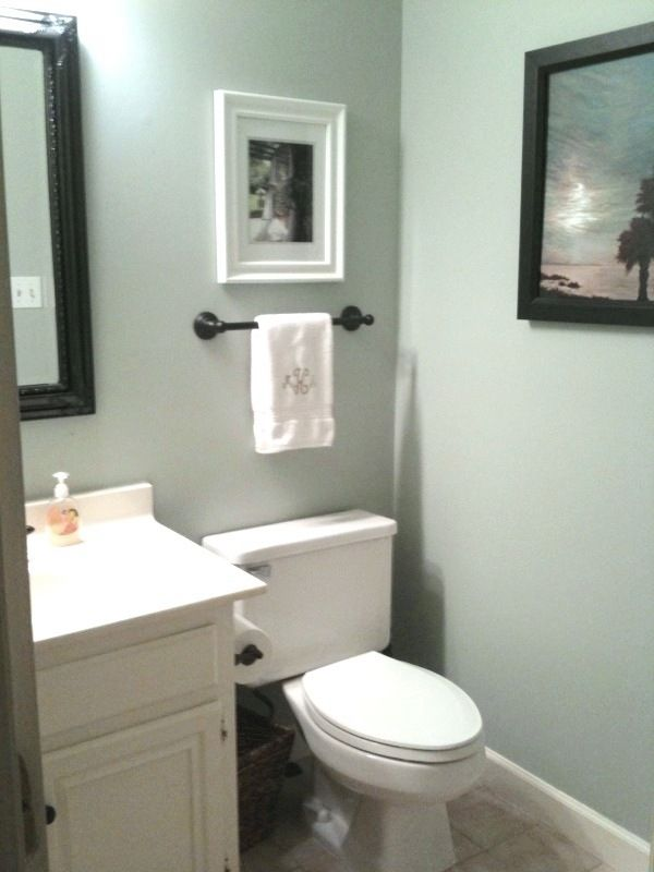 Silver Sage Paint Bathroom Together
