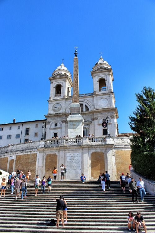 annajewelsphotography: Spanish Steps - Rome - Italy (by... IFTTT Tumblr