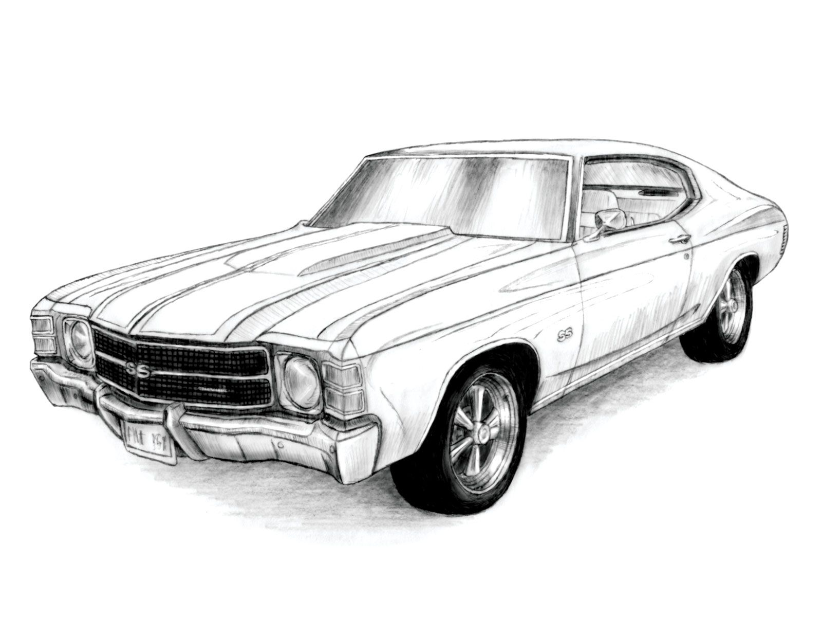 chevelle coloring pages - photo#27