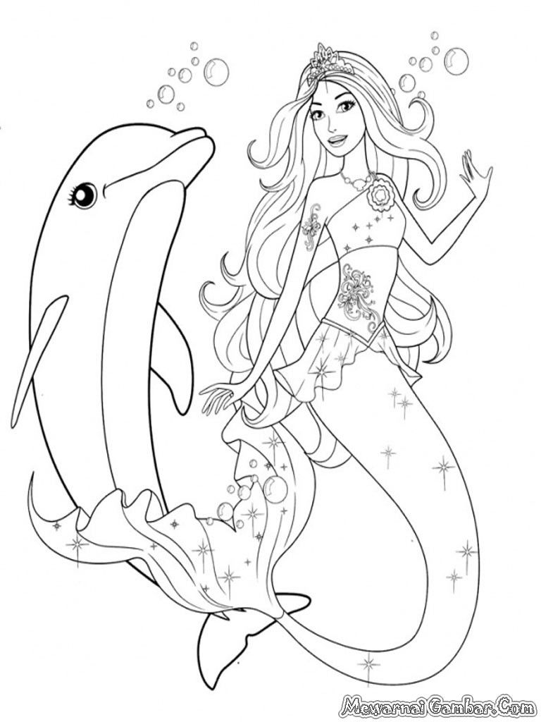 20 Of The Best Ideas For Mermaid Colouring Pages Free Printable Dolphin Coloring Pages Mermaid Coloring Pages Barbie Coloring Pages
