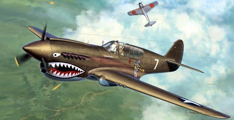 High Resolution Curtiss P40 Warhawk Flying Tiger Desktop Laptop Wallpaper Listed In Category