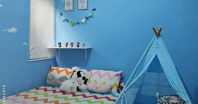 Warna Cat Kamar Biru