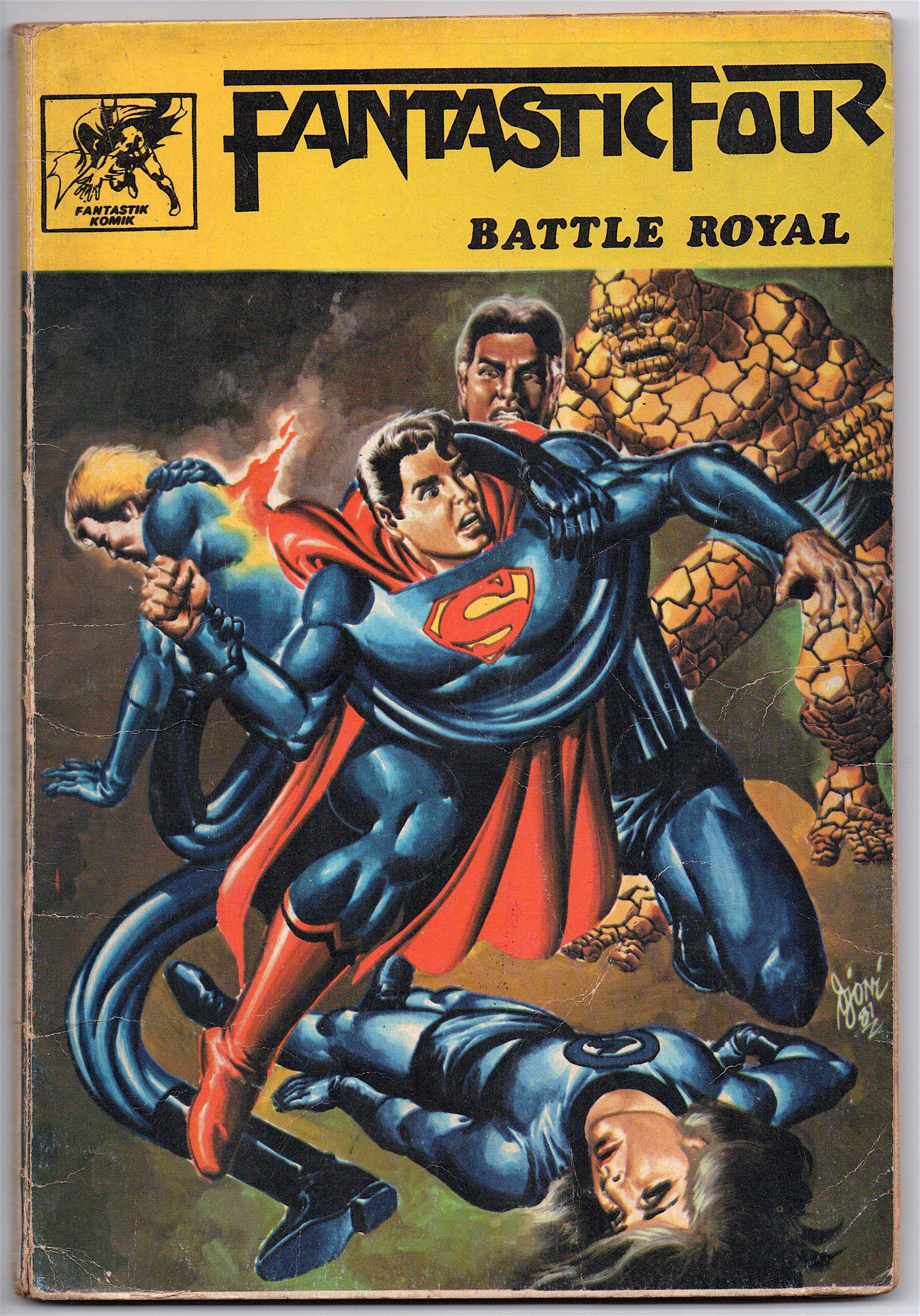 "Indonesia Fantastic Four, ""Battle Royal"" … Comics"
