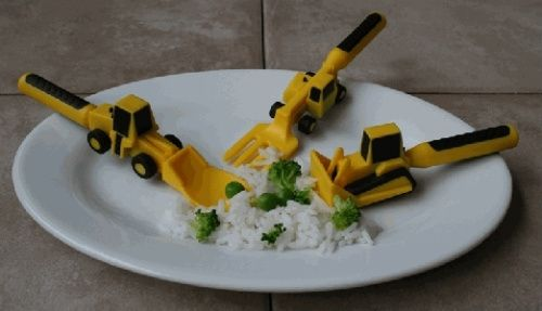 Play with your food, boy!