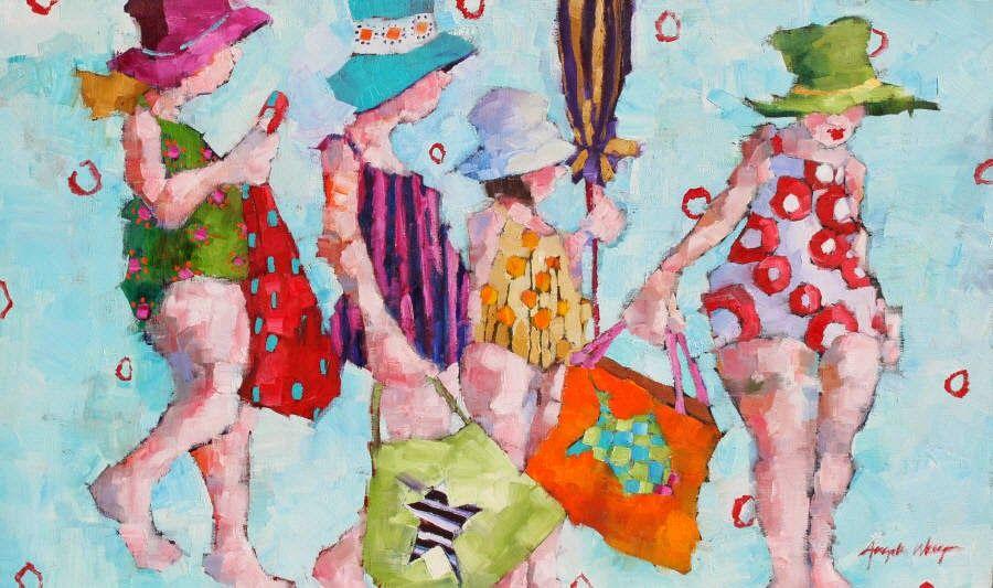 Pinzellades al món: Gaudint de l'estiu / Disfrutando del verano / Enjoying the summer