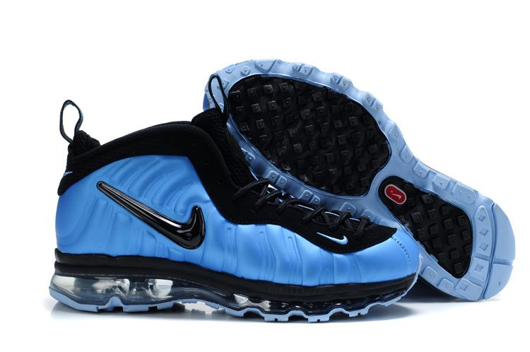 Foamposite Air Max Fusion Men Pro Blue Black  5431a4545