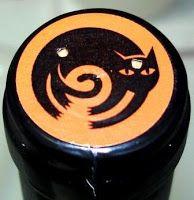 """""""Gato Negro Cabernet Sauvignon"""" wine bottle cap - (Chile)"""