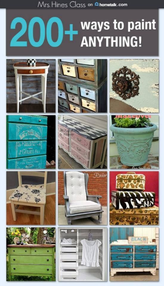 200 ways to paint anything crafts paint furniture and paintings