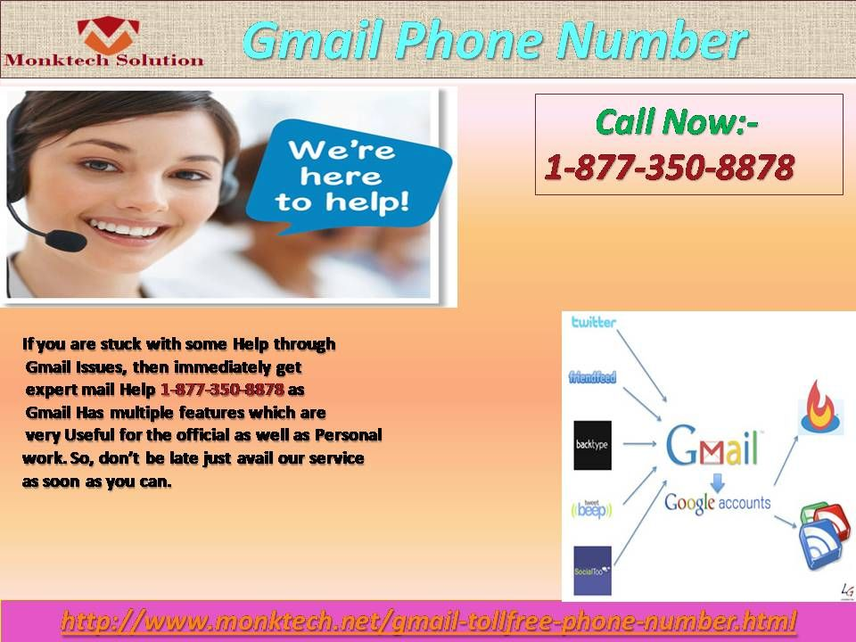 Add your number to your gmail by using gmail phone number