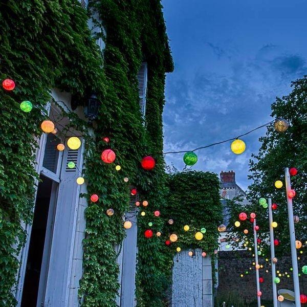 Guirlande 24 boules LED extérieur Case Cousin Paul Outdoor