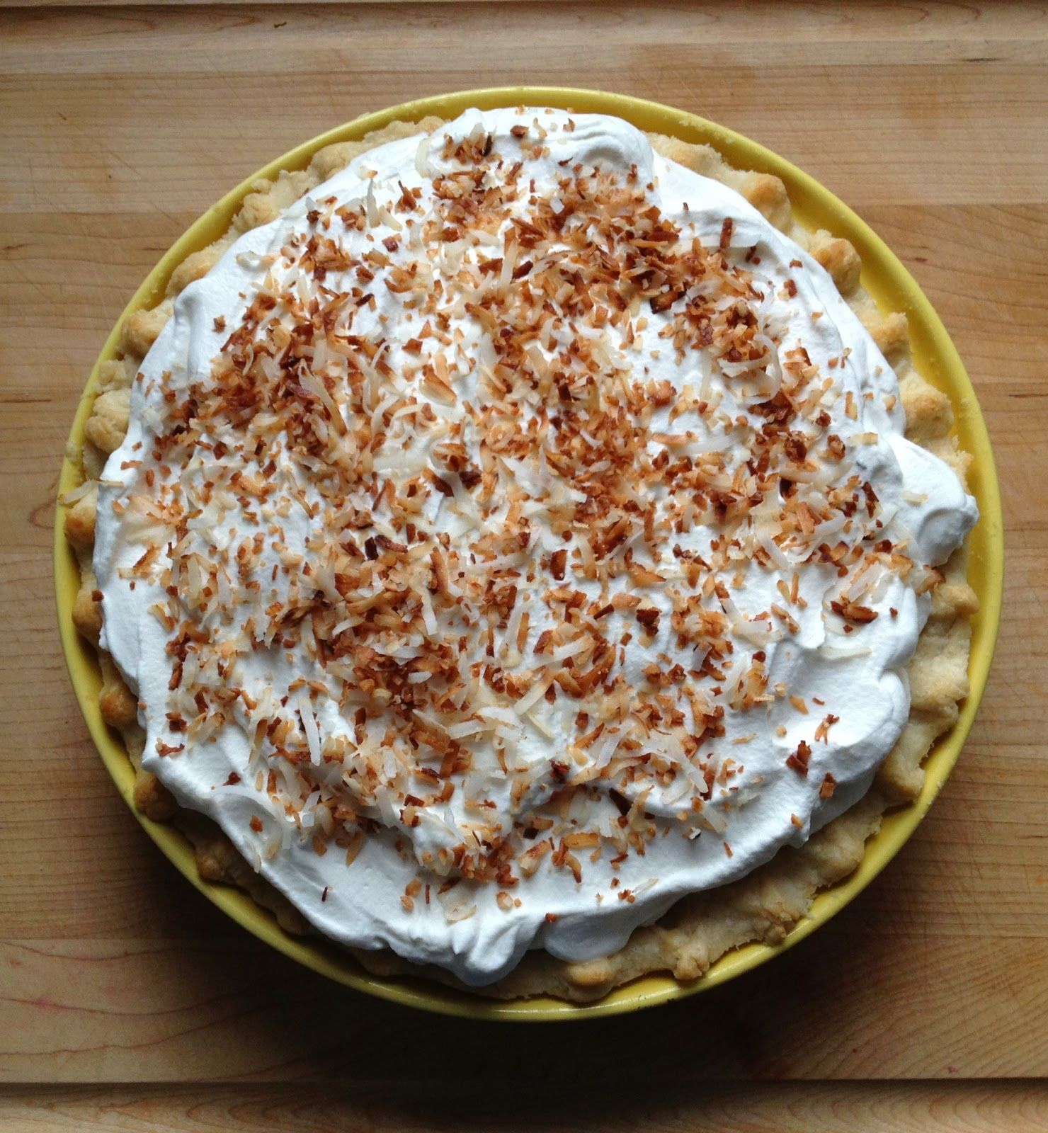 {The Girly Girl Cooks} Coconut Cream Pie