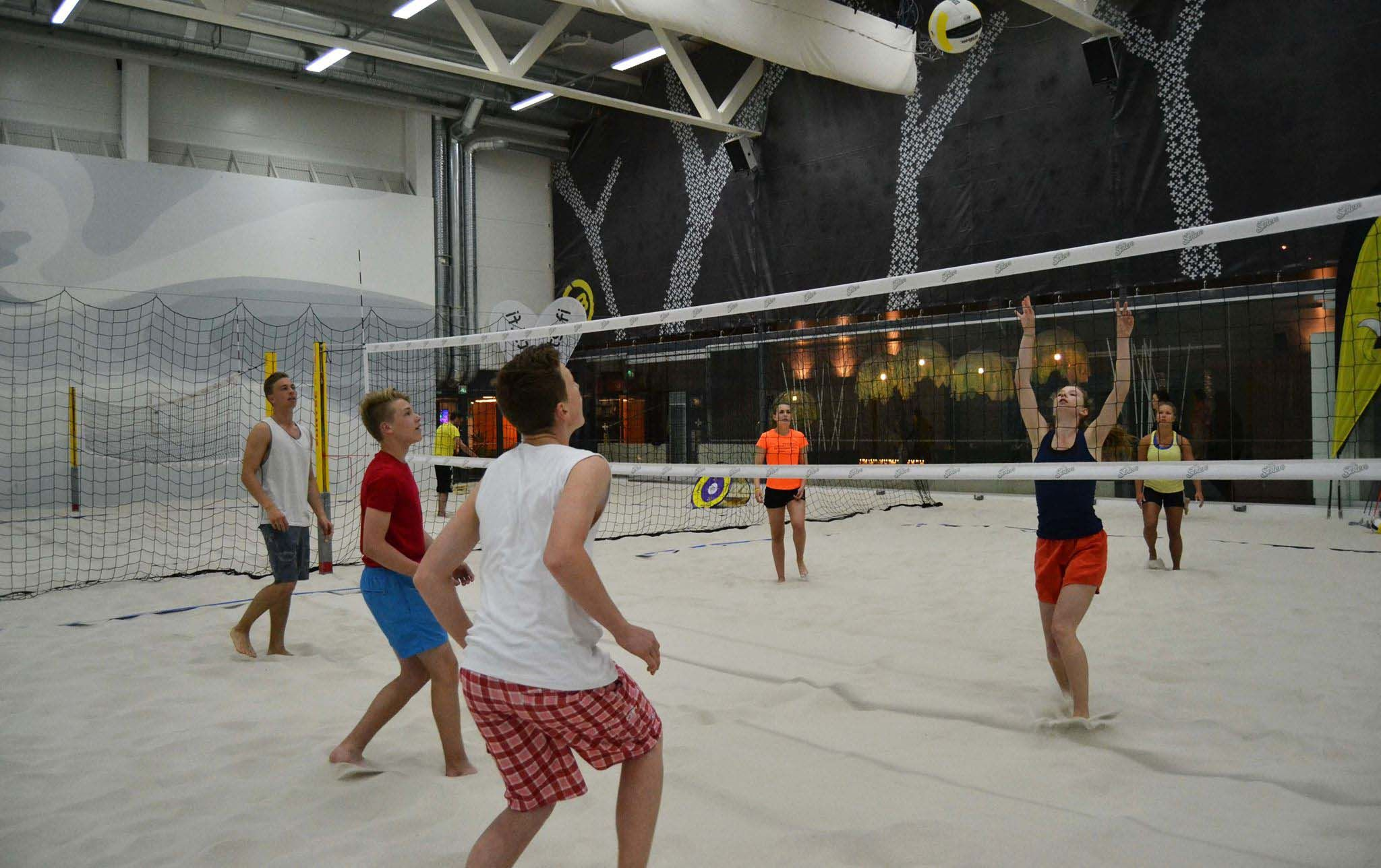 A Rainy Day In Helsinki What To Do In Salmisaari There Is An Indoor Sports Centre In Which You Can Pl Holidays In Finland Indoor Sports Online Travel Agency