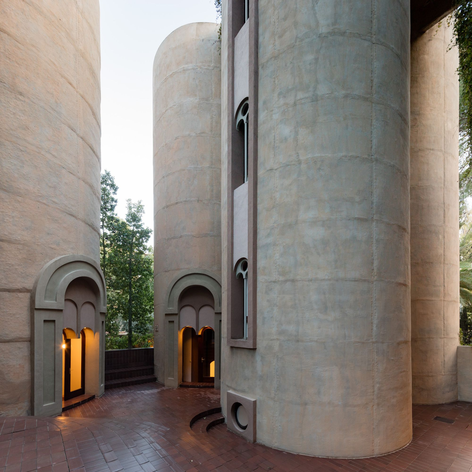 Gallery Of See Ricardo Bofill's Converted Cement Factory