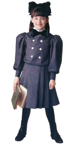 Samantha's Flannel School Dress