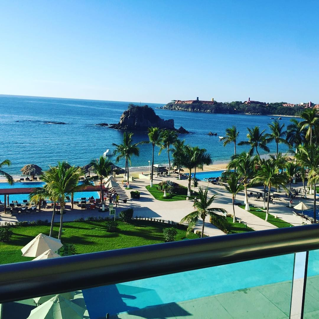 Room view from Dreams Huatulco Resort  Spa in Mexico