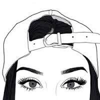 resultado de imagem para desenho de menina tumblr doodles and such