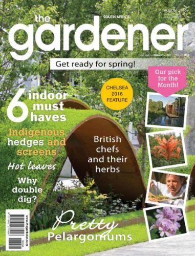 The Gardener South Africa August 2016 Magazine Pdf Mulch For Vegetable Garden Gardening Magazines Indoor Vegetable Gardening