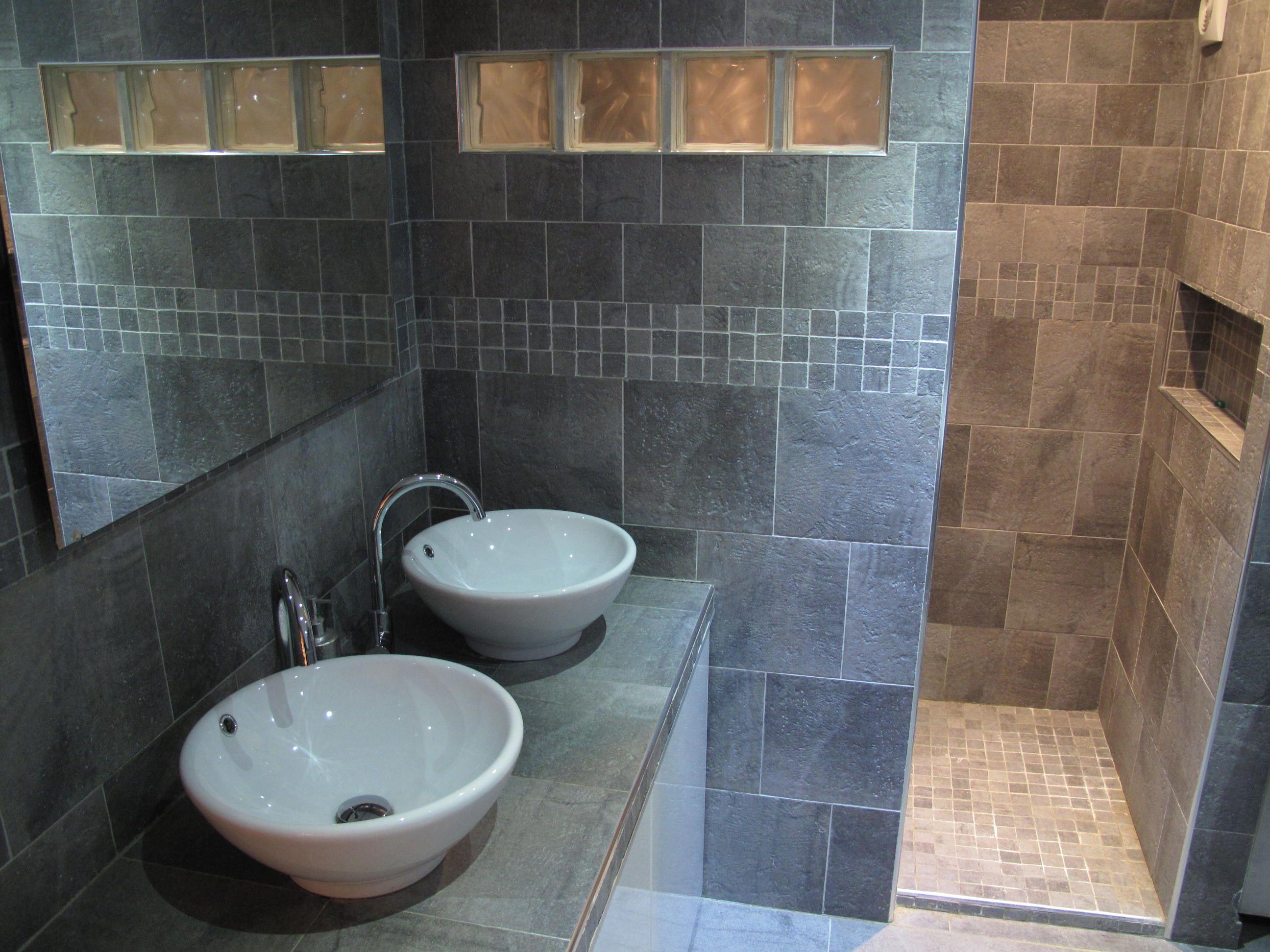 plan vasque salle de bain a carreler