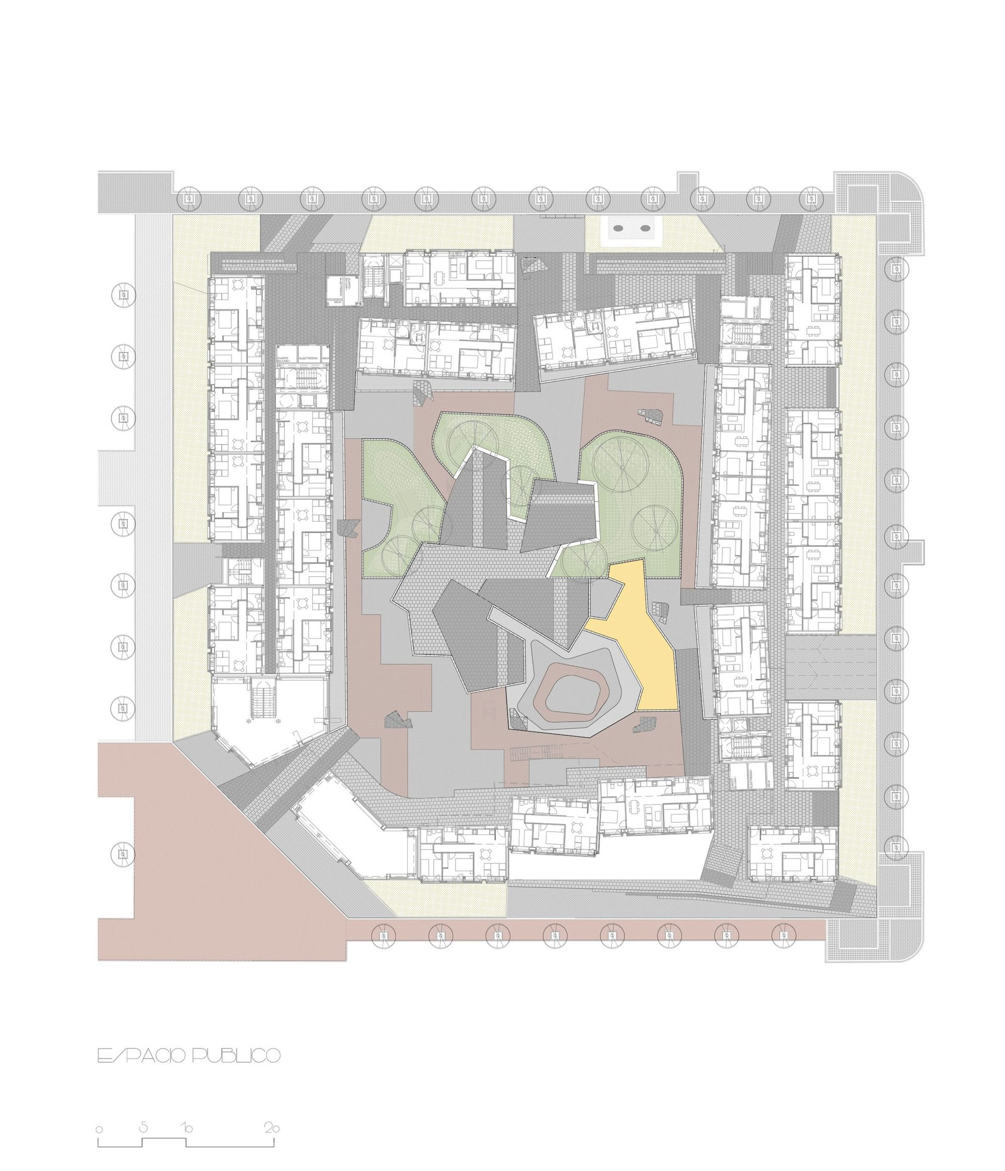 Galería - Bloque De Viviendas Sociales En Barajas / EMBT - 21