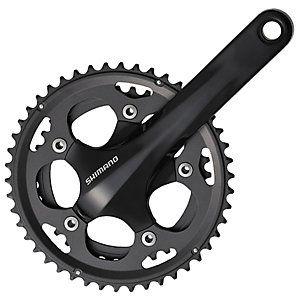 Shimano 105 Cx50 Double 10sp Chainset Black Online Bike Store
