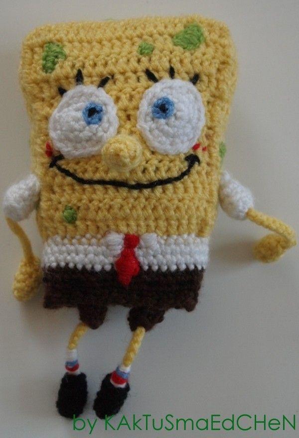 Häkelanleitung SpongeBob