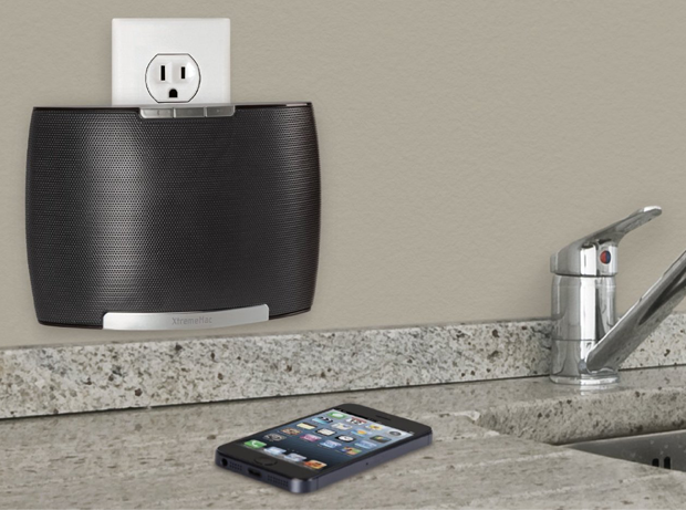 Soma Wall Speaker da muro bluetooth per iPod/iPhone/iPad – Nero su electromaniaco a prezzo #stock