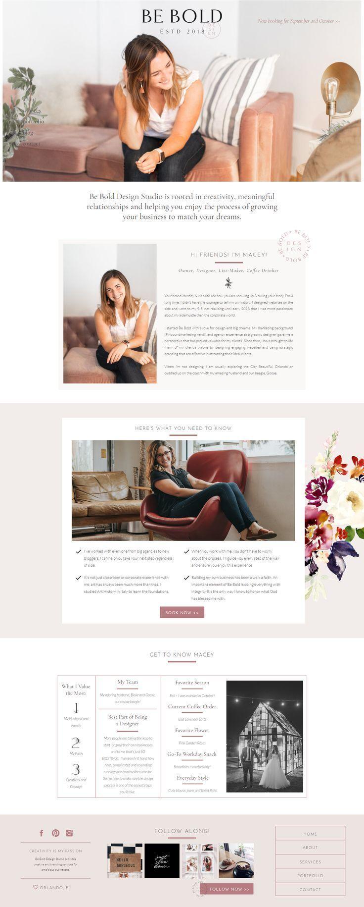 Branding & Web Design for Female Creatives