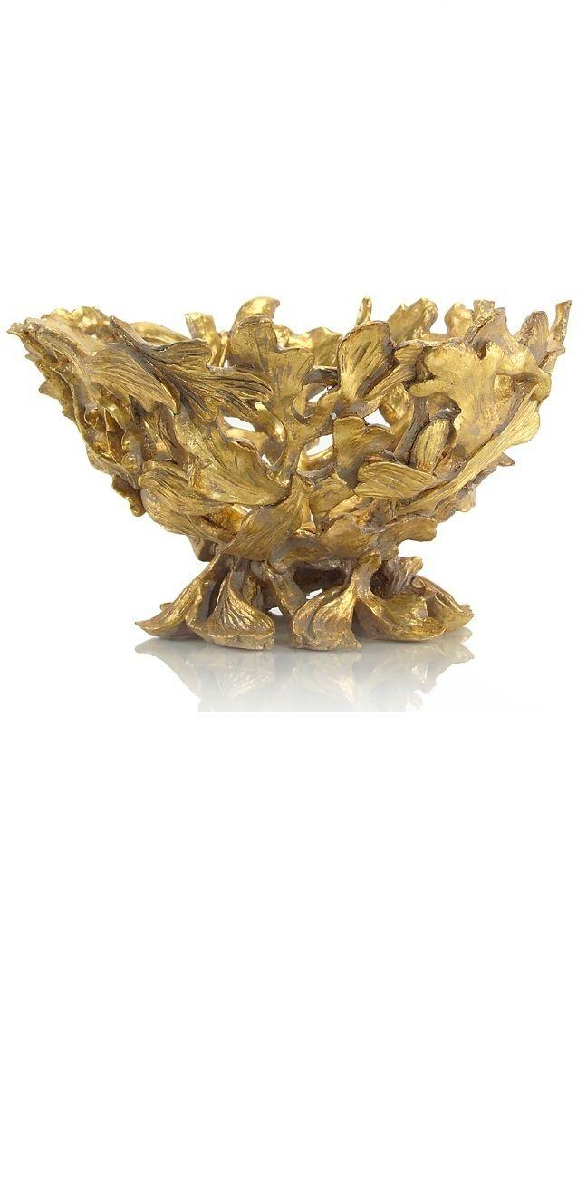 instyle decorcom designer gold leaf bowl luxury wedding gifts wedding gift
