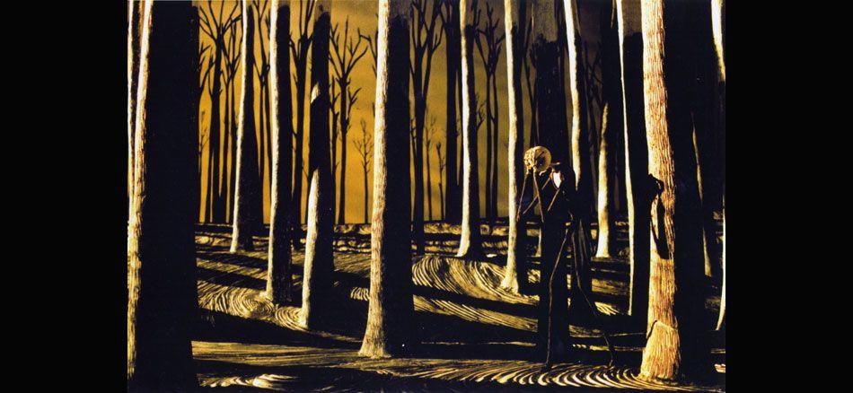 Exteriors. Charmingly fake and surreal. Tim Burton. | TUCG ...