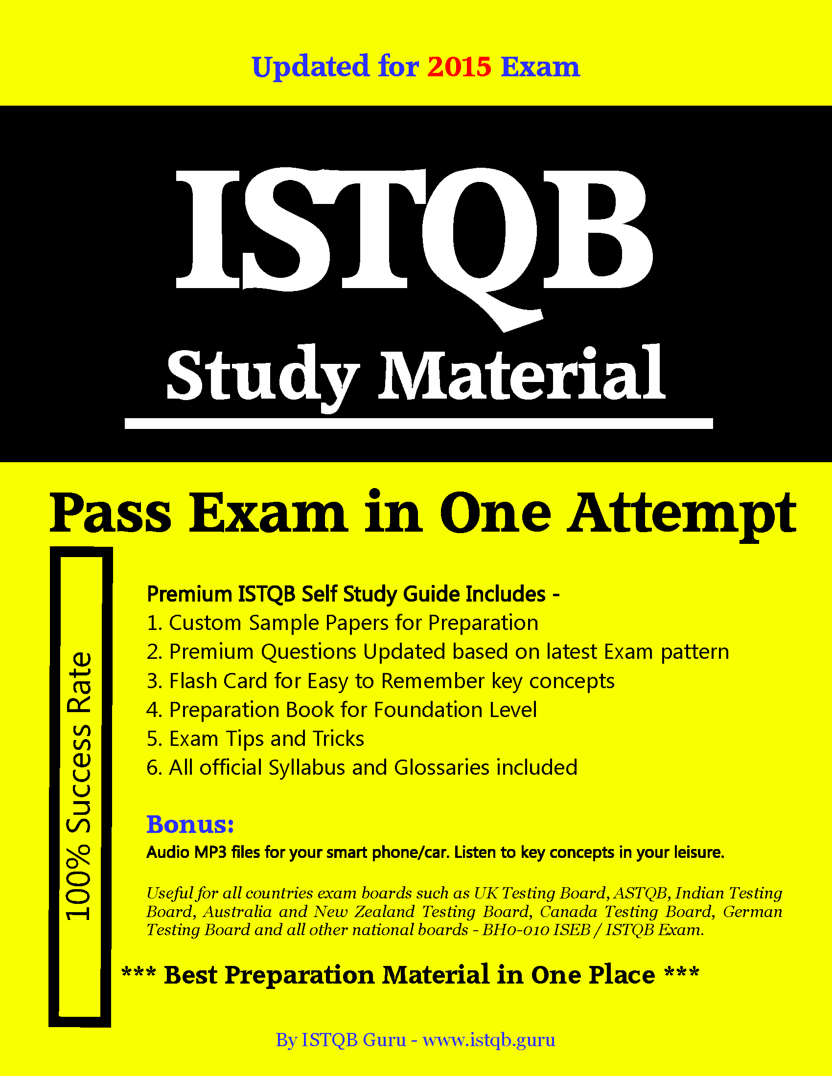 100 sure pass istqb foundation level exam dumps 2014 prepared by 100 sure pass istqb foundation level exam dumps 2014 prepared by istqb guru for bh0 fandeluxe Images