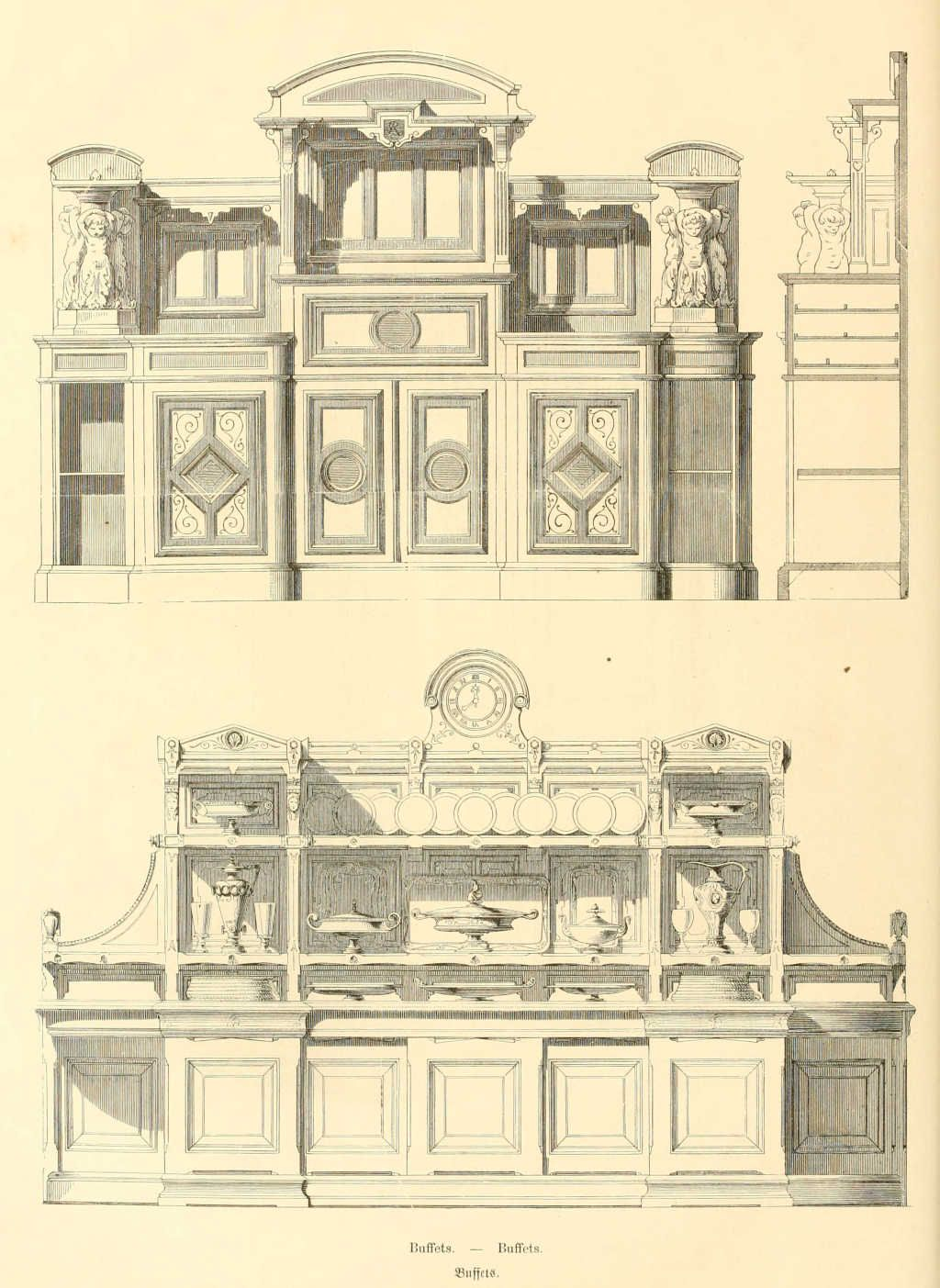 Mobilier De France Catalogue Dessins De Mobilier Tirés De Catalogues De Meubles De 1871