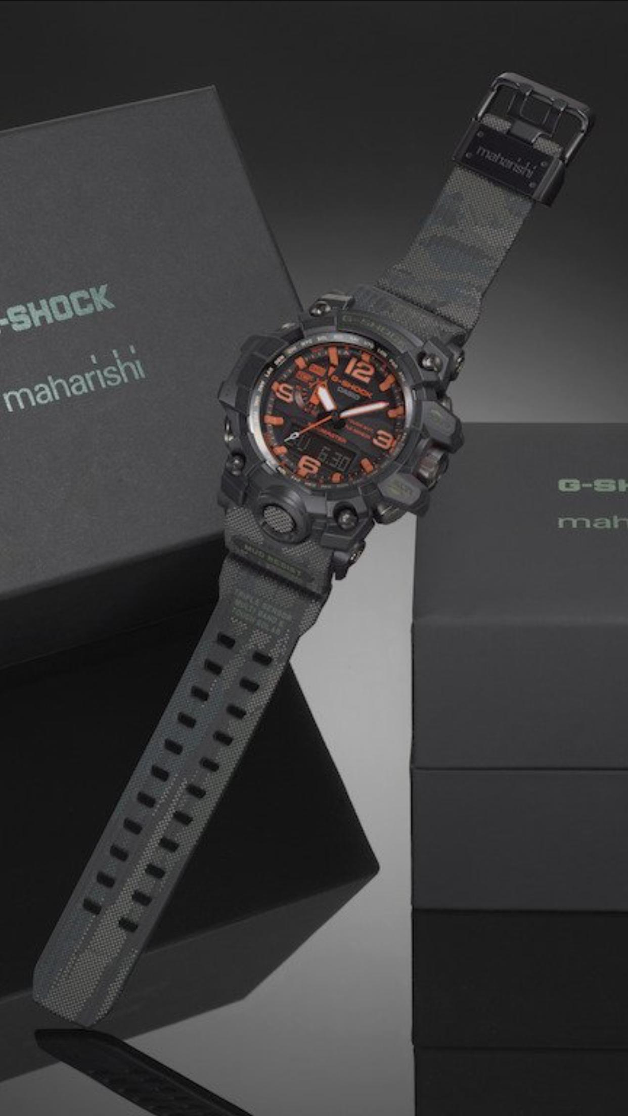 Casio G Shock Mudmaster Maharishi My Time In 2018 Pinterest Gshock Original Gd 100ms 3er Limited Colorway