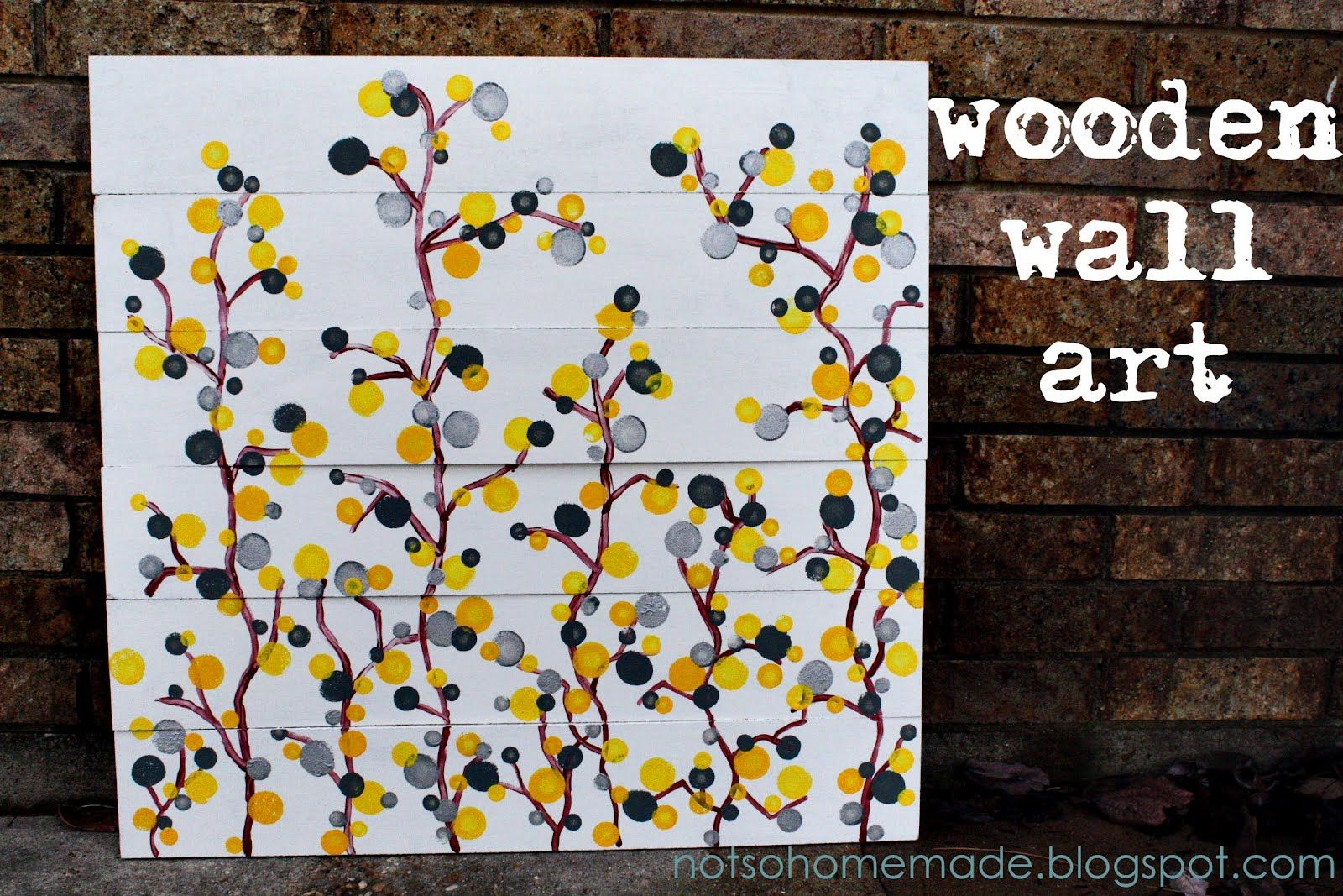 Not so homemade wooden wall art wall art ideas pinterest