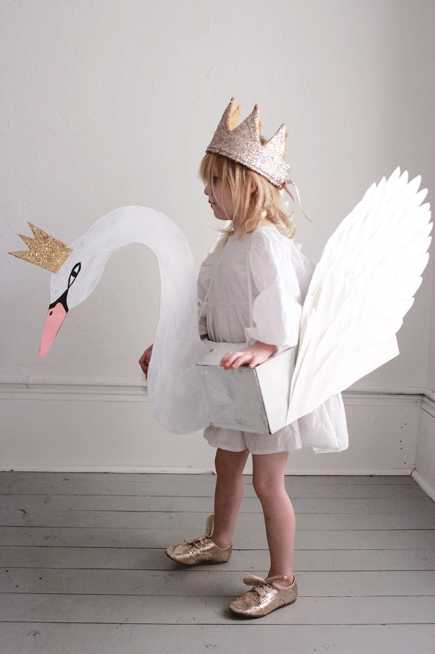We Ve Wanted To Make A Swan Costume For Miss M Ever Since We Put