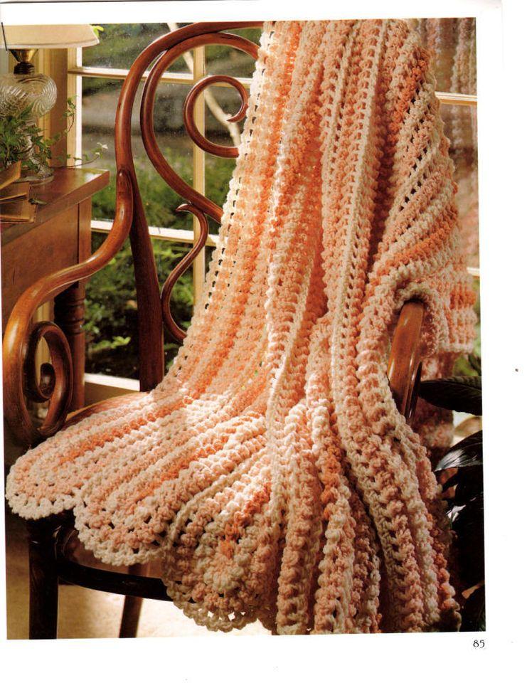 Crochet PATTERN -  Distinctive Design Afghan