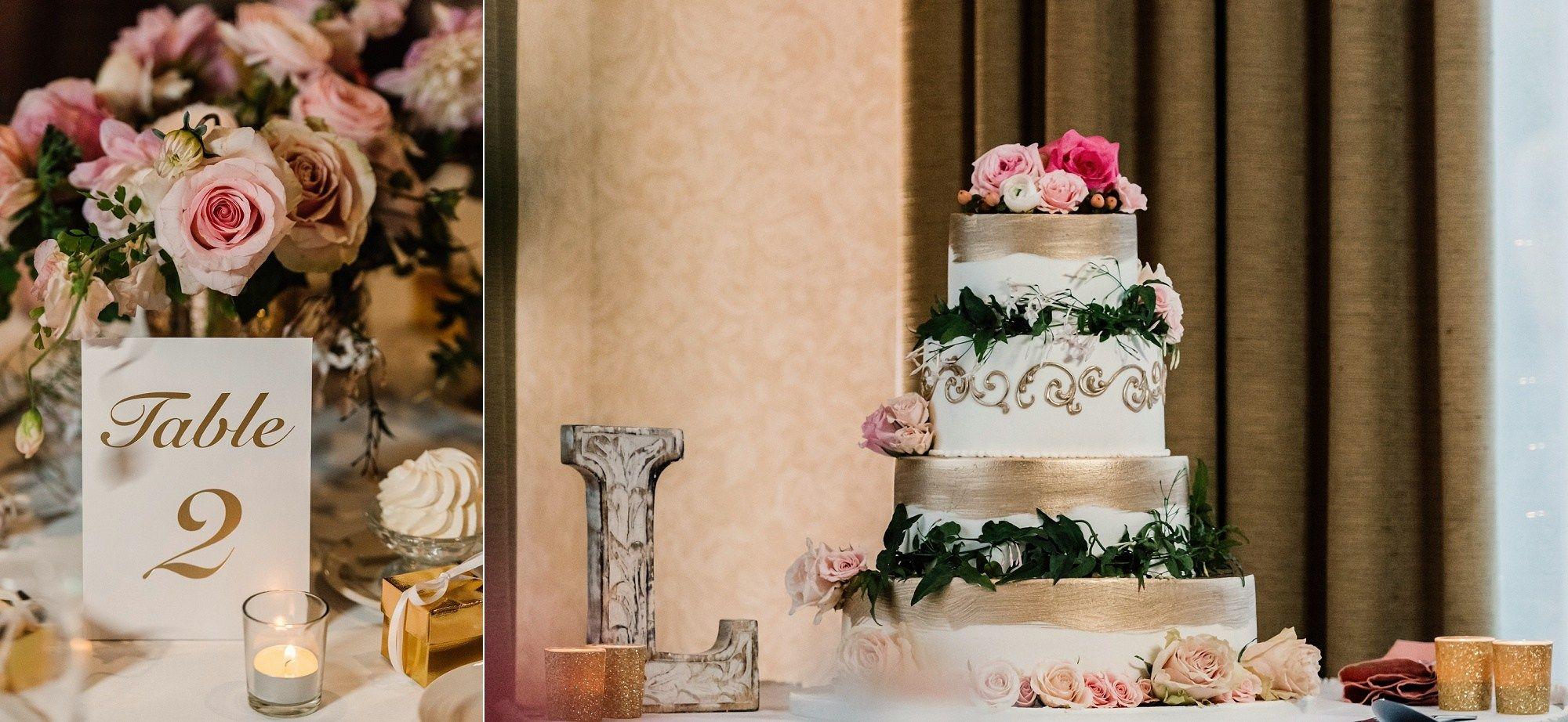 Matthew amanda golf course wedding wedding cakes