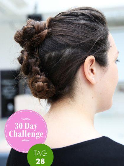 30 Day Challenge Neuer Tag Neue Frisur Tag 28 Frisuren Neue Frisuren Und Mohawk