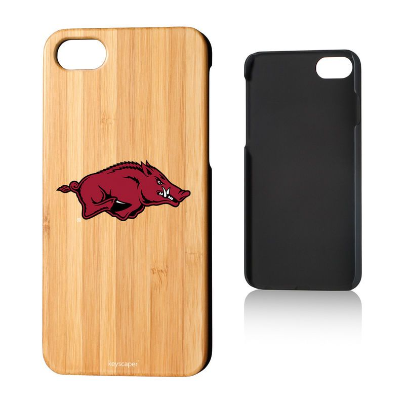 Arkansas Razorbacks Logo Bamboo iPhone 7 Case