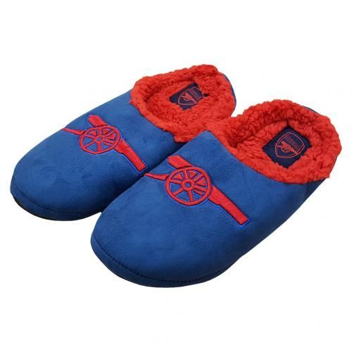 a43f635759aa ARSENAL Mules Slippers in club colours and featuring the club crest. Shoe  size 11
