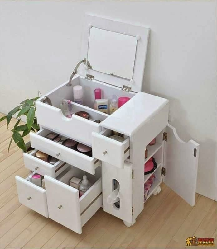 Makeup Storage Ideas With Images