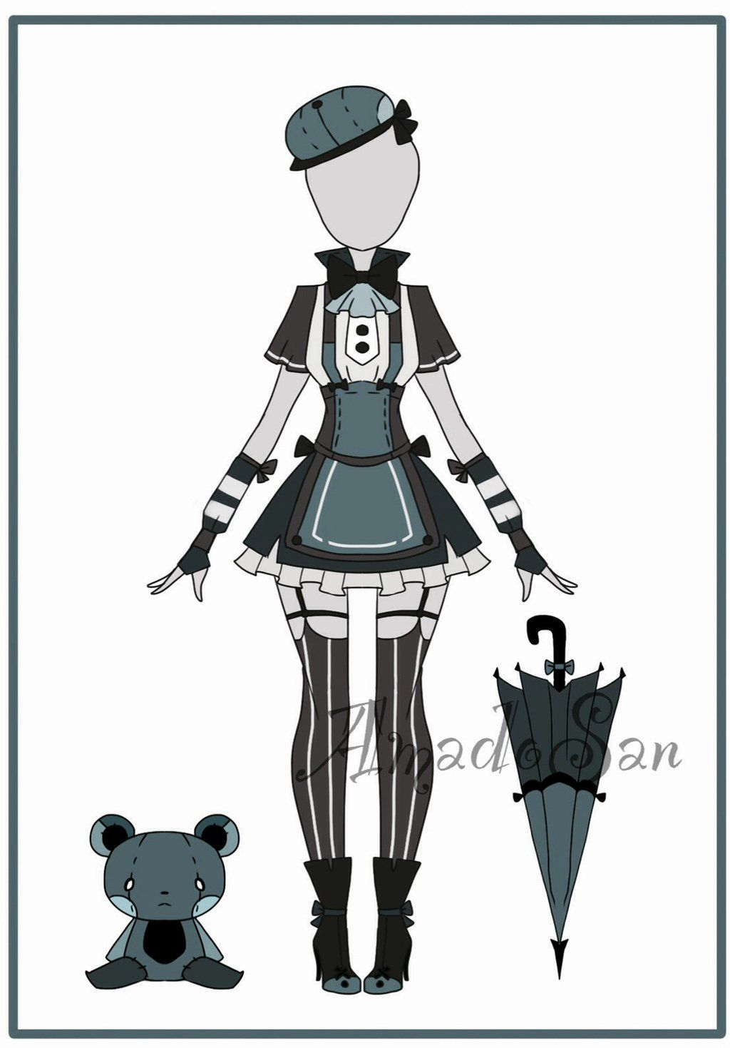 Outfit adoptable CLOSED 04 by