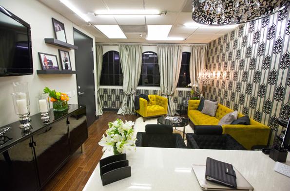 Kris Jenneru0027s Stylish Office Makeover   Sayeh Pezeshki   LA Brand, Logo And  Web Designer